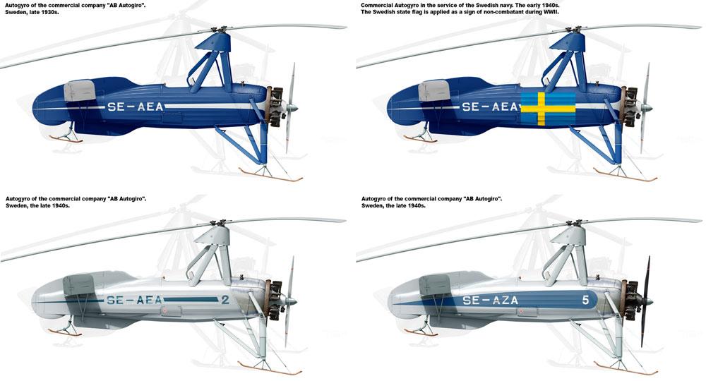 シェルヴァ C.30 雪上スキー仕様プラモデル(ミニアートエアクラフトミニチュアシリーズNo.41014)商品画像_1