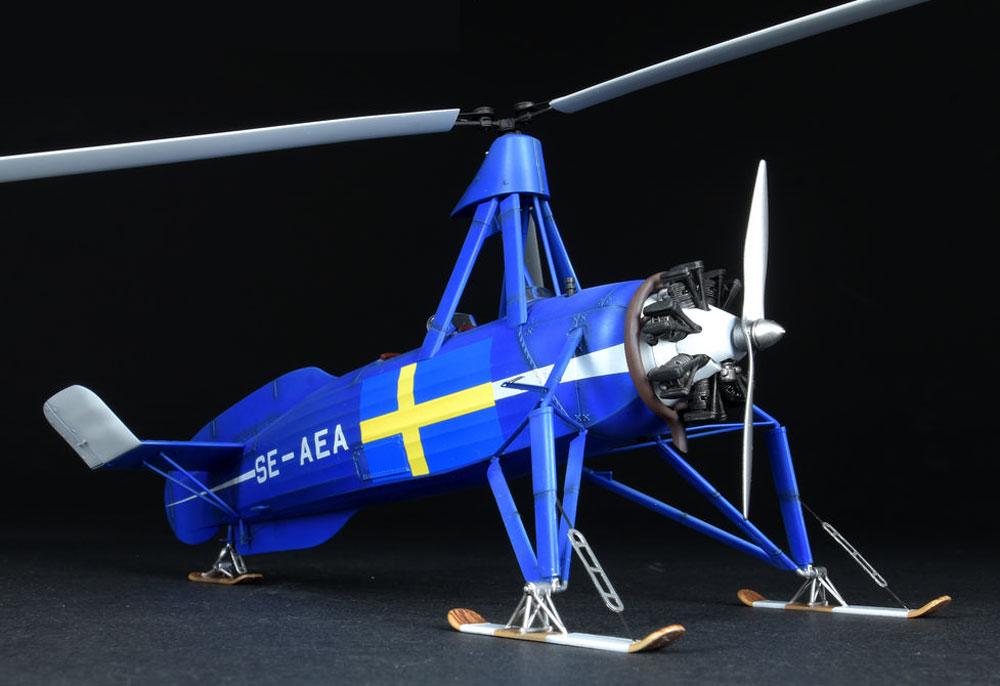 シェルヴァ C.30 雪上スキー仕様プラモデル(ミニアートエアクラフトミニチュアシリーズNo.41014)商品画像_4