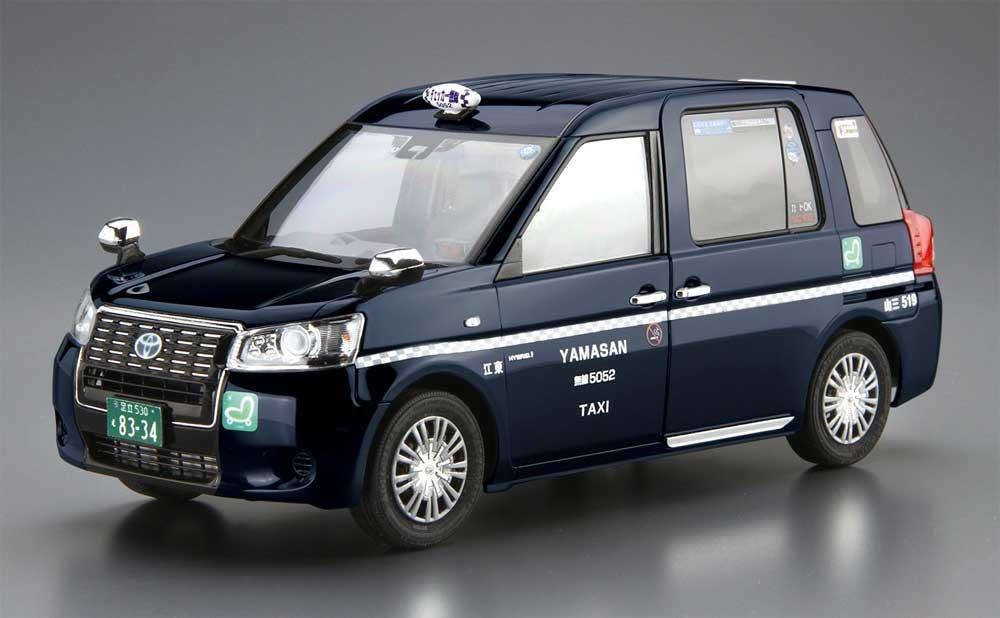 トヨタ NTP10 JPNタクシー '17 チェッカーキャブ仕様プラモデル(アオシマ1/24 ザ・モデルカーNo.SP4905083057179)商品画像_2