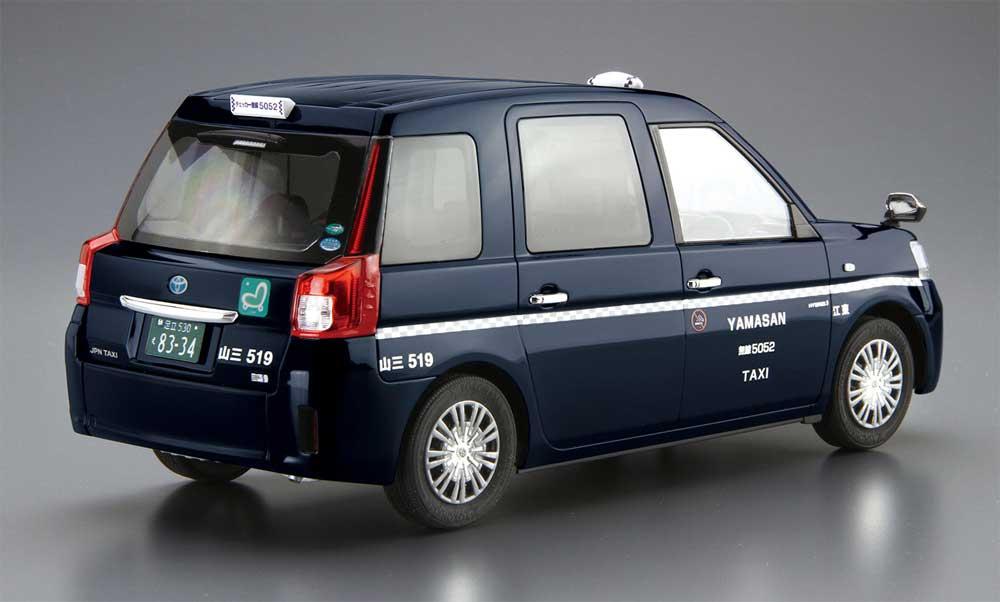 トヨタ NTP10 JPNタクシー '17 チェッカーキャブ仕様プラモデル(アオシマ1/24 ザ・モデルカーNo.SP4905083057179)商品画像_3