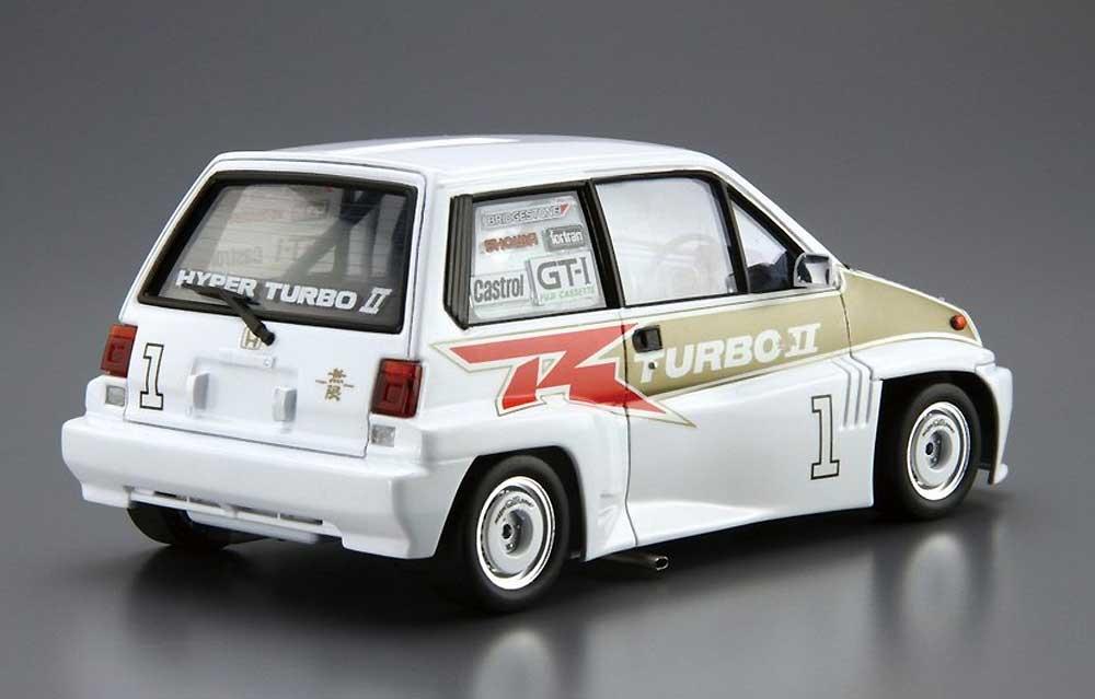 無限 AA シティターボ 2R ワンメイクシルエット '83プラモデル(アオシマ1/24 ザ・モデルカーNo.SP4905083059128)商品画像_3