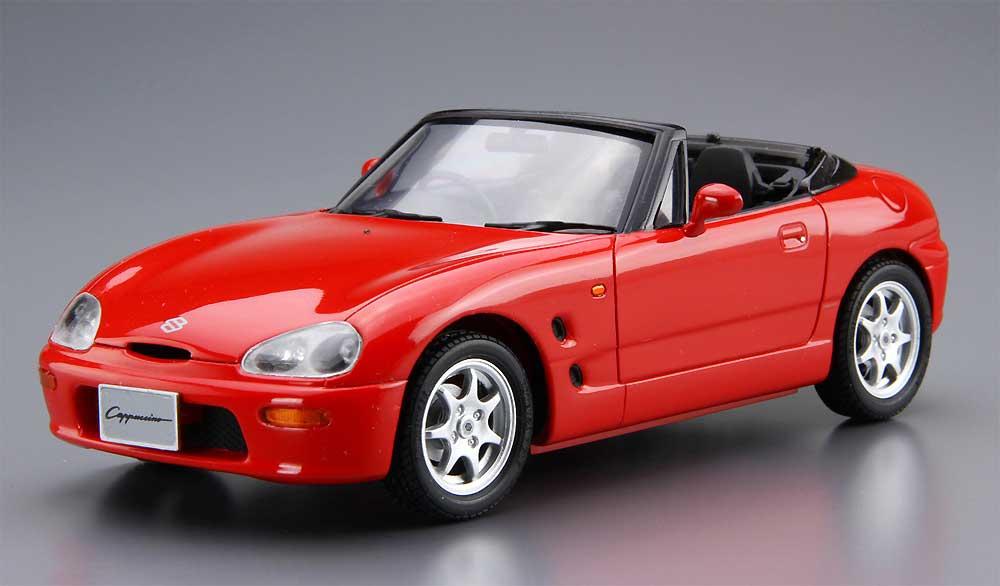 スズキ EA11R カプチーノ '91プラモデル(アオシマ1/24 ザ・モデルカーNo.040)商品画像_2