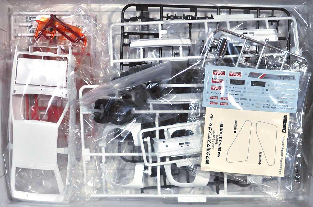 TRD AE86 トレノ N2仕様 '85 (トヨタ)プラモデル(アオシマ1/24 ザ・チューンドカーNo.029)商品画像_1