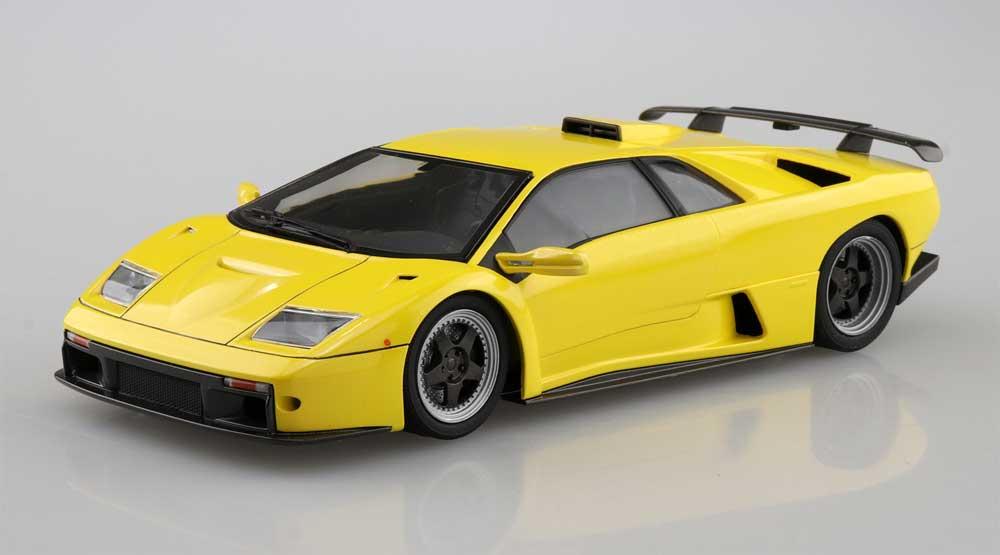 '99 ランボルギーニ ディアブロ GTプラモデル(アオシマザ スーパーカー シリーズNo.005)商品画像_2