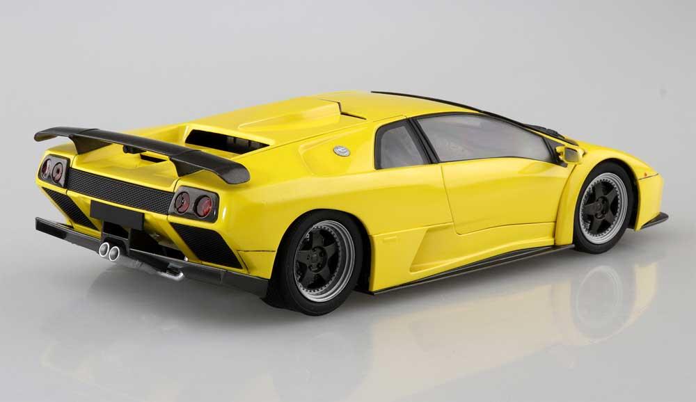 '99 ランボルギーニ ディアブロ GTプラモデル(アオシマザ スーパーカー シリーズNo.005)商品画像_3