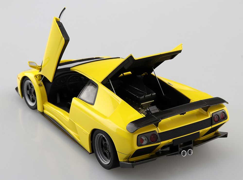 '99 ランボルギーニ ディアブロ GTプラモデル(アオシマザ スーパーカー シリーズNo.005)商品画像_4