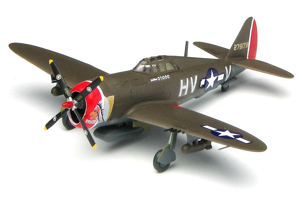 P-47D サンダーボルト レザーバックプラモデル(プラッツ1/144 プラスチックモデルキットNo.PDR-011)商品画像_2