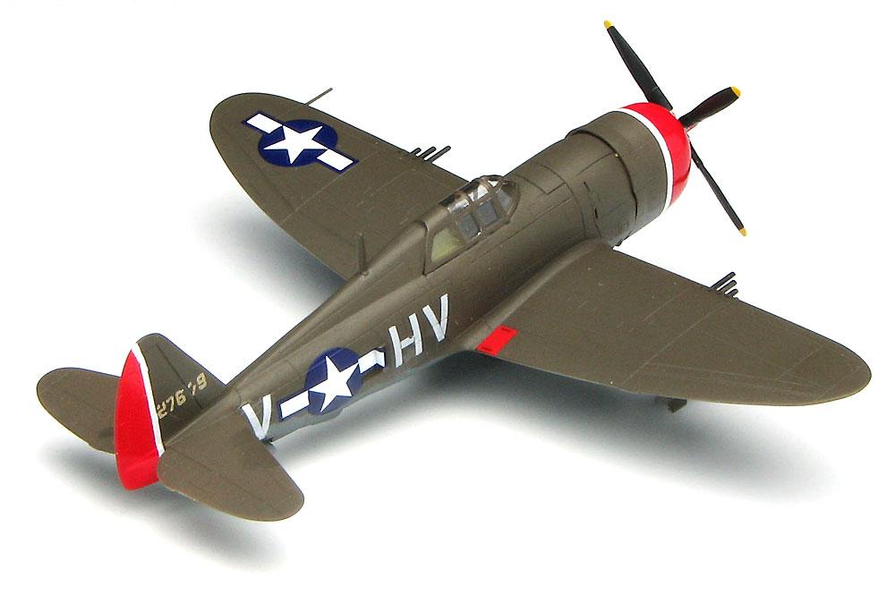 P-47D サンダーボルト レザーバックプラモデル(プラッツ1/144 プラスチックモデルキットNo.PDR-011)商品画像_3
