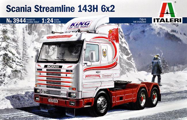 スカニア ストリームライン 143H 6×2プラモデル(イタレリ1/24 トラックシリーズNo.3944)商品画像