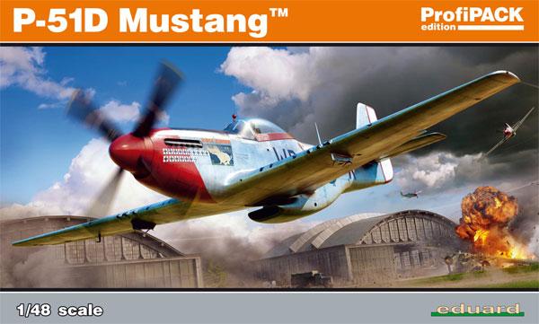 P-51D マスタングプラモデル(エデュアルド1/48 プロフィパックNo.82102)商品画像