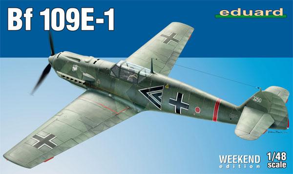 メッサーシュミット Bf109E-1プラモデル(エデュアルド1/48 ウィークエンド エディションNo.84158)商品画像