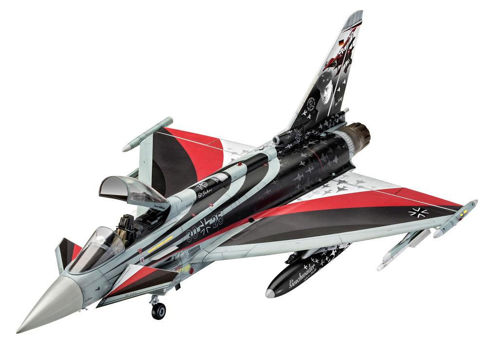 ユーロファイター タイフーン バロン スピリットプラモデル(レベル1/48 飛行機モデルNo.03848)商品画像_2