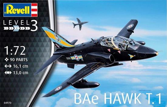 BAE ホーク T.1プラモデル(レベル1/72 AircraftNo.04970)商品画像