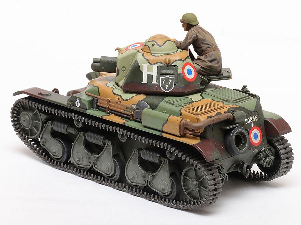 フランス軽戦車 R35プラモデル(タミヤ1/35 ミリタリーミニチュアシリーズNo.373)商品画像_2