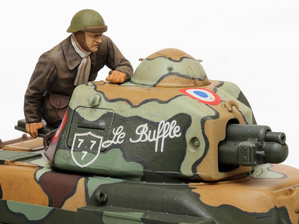 フランス軽戦車 R35プラモデル(タミヤ1/35 ミリタリーミニチュアシリーズNo.373)商品画像_3