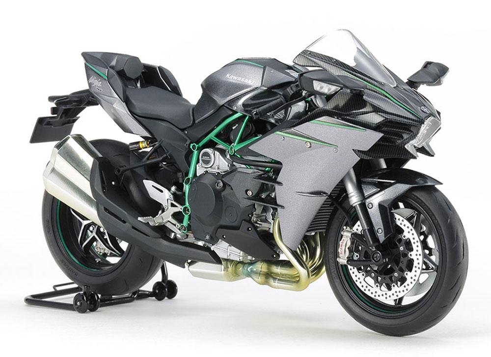 カワサキ Ninja H2 CARBONプラモデル(タミヤ1/12 オートバイシリーズNo.136)商品画像_1