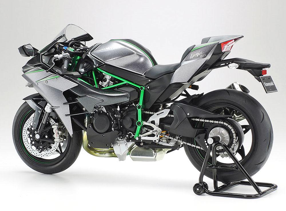 カワサキ Ninja H2 CARBONプラモデル(タミヤ1/12 オートバイシリーズNo.136)商品画像_2
