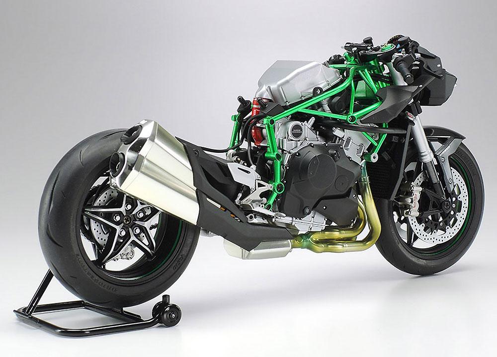 カワサキ Ninja H2 CARBONプラモデル(タミヤ1/12 オートバイシリーズNo.136)商品画像_3