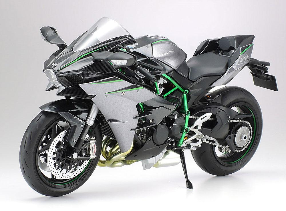 カワサキ Ninja H2 CARBONプラモデル(タミヤ1/12 オートバイシリーズNo.136)商品画像_4