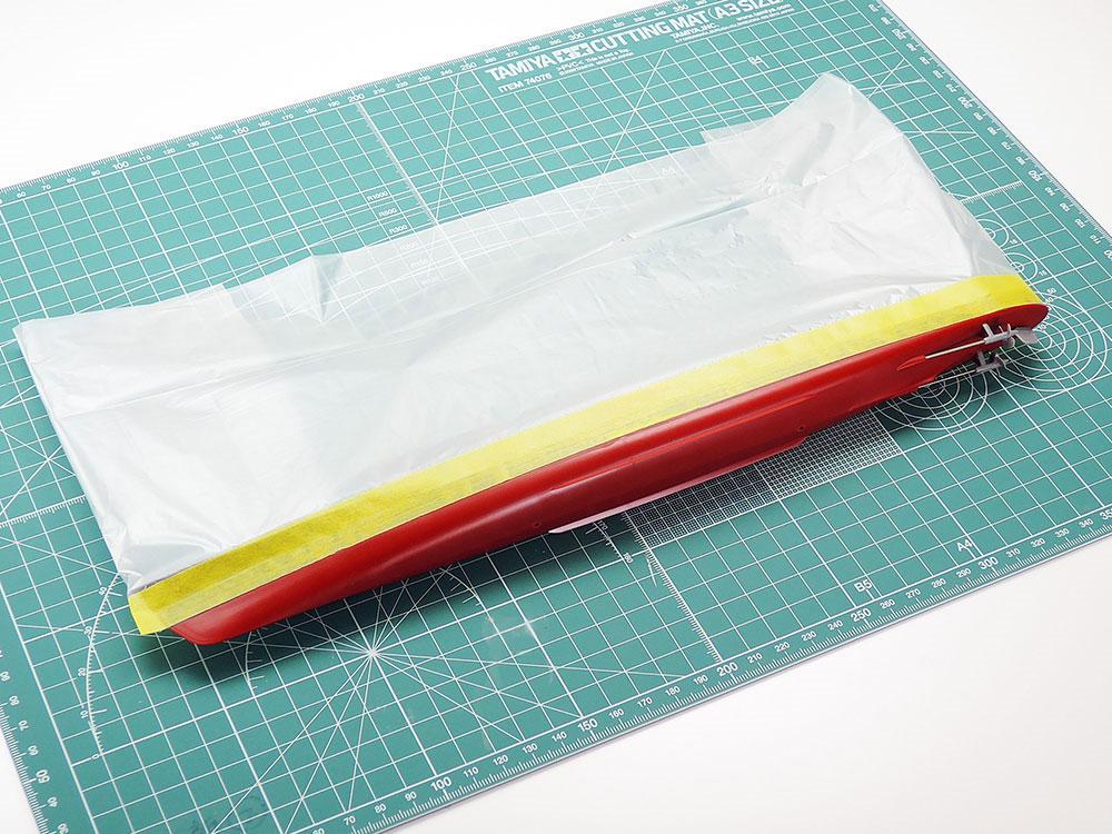 シート付きマスキングテープ 150mmマスキングテープ(タミヤメイクアップ材No.87203)商品画像_2