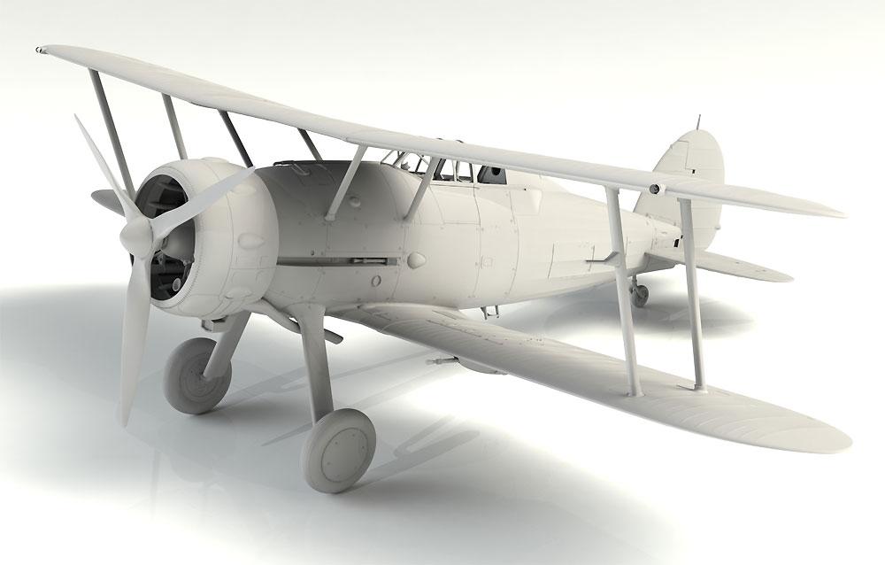 グロスター グラジエーター Mk.2プラモデル(ICM1/32 エアクラフトNo.32041)商品画像_1