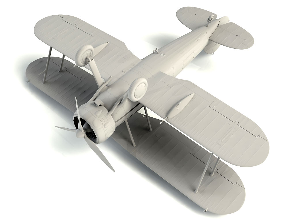 グロスター グラジエーター Mk.2プラモデル(ICM1/32 エアクラフトNo.32041)商品画像_4