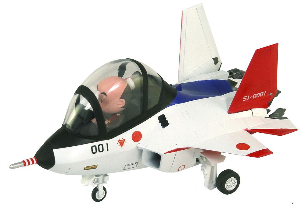 先進技術実証機 X-2 山口美南 3等空尉 音楽まつり女子演技服 フィギュア付き限定版プラモデル(グレートウォールホビーデフォルメプレーンNo.LDP001SP002)商品画像_4