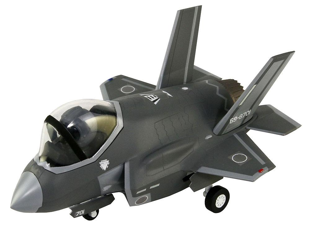 航空自衛隊 戦闘機 F-35A 自衛官 三沢ねむ 3等空曹 迷彩服 フィギュア付き限定版プラモデル(グレートウォールホビーデフォルメプレーンNo.LDP002SP002)商品画像_3