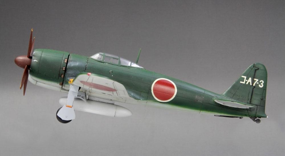 帝国海軍 局地戦闘機 烈風一一型プラモデル(ファインモールド1/72 航空機No.FP035)商品画像_2