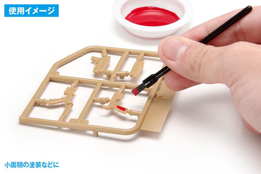 使いきりタイプ ミニ平筆筆(ウェーブホビーツールシリーズNo.OF-053)商品画像_2