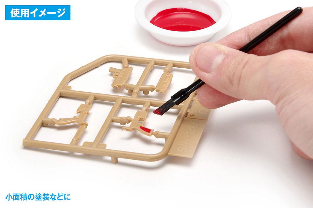 使いきりタイプ ミニ平筆 ななめカット筆(ウェーブホビーツールシリーズNo.OF-054)商品画像_2