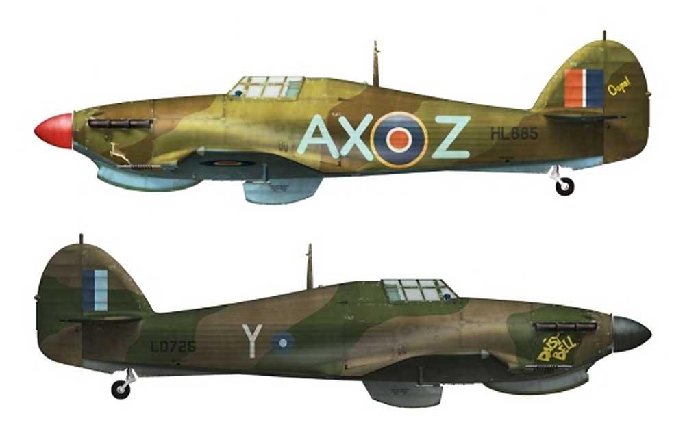 ホーカー ハリケーン Mk.2c トロピカルプラモデル(アルマホビー1/72 エアクラフト プラモデルNo.70037)商品画像_1