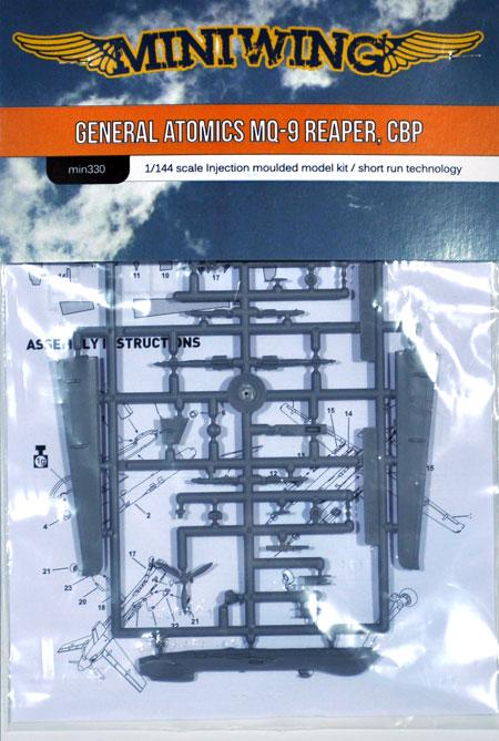 ジェネラル アトミックス MQ-9 リーパー アメリカ合衆国税関・国境警備局プラモデル(ミニウイング1/144 インジェクションキットNo.mini330)商品画像