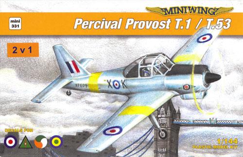 パーシヴァル プロヴォスト T.1/T.53 (2キット入)プラモデル(ミニウイング1/144 インジェクションキットNo.mini331)商品画像