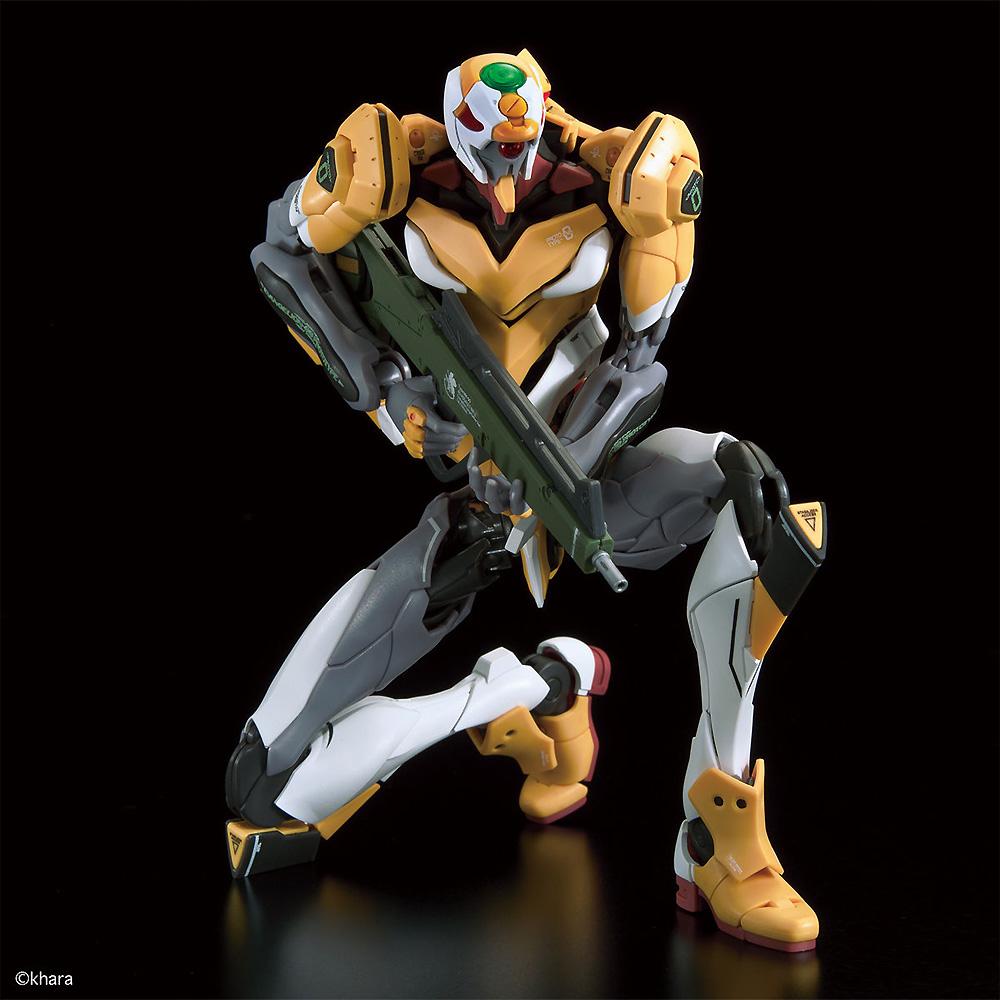 汎用ヒト型決戦兵器 人造人間 エヴァンゲリオン 試作零号機 DX 陽電子砲セットプラモデル(バンダイRG エヴァンゲリオンNo.506258)商品画像_4