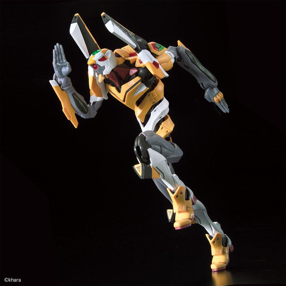 汎用ヒト型決戦兵器 人造人間 エヴァンゲリオン 試作零号機プラモデル(バンダイRG エヴァンゲリオンNo.EVA-000)商品画像_3