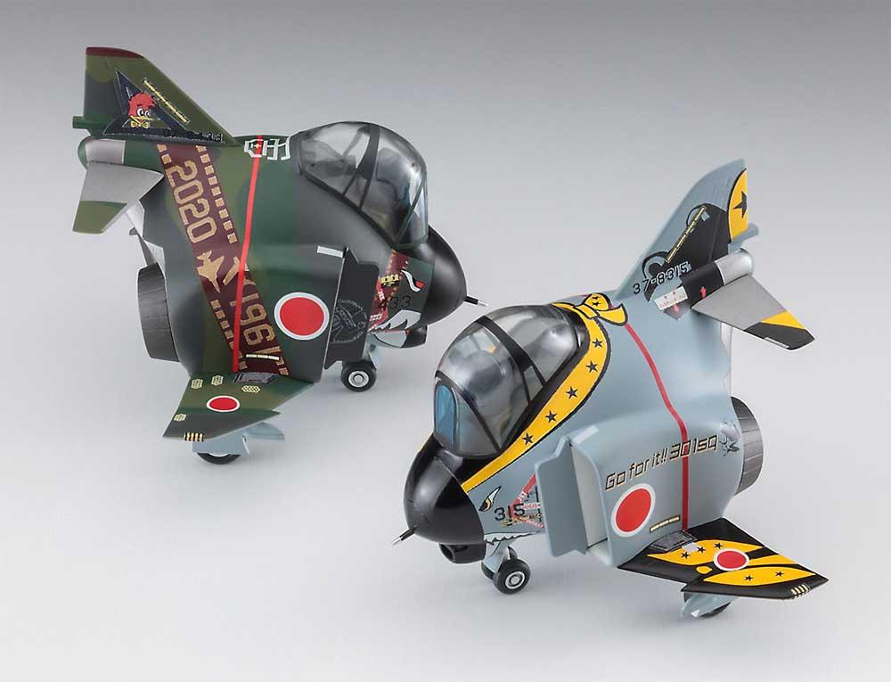 F-4 ファントム 2 301SQ & 501SQ ファイナルイヤー 2020プラモデル(ハセガワたまごひこーき シリーズNo.60519)商品画像_4