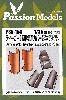 ティーガー 1型 排気管カバー ダメージ治具とエッチングセット (タミヤ対応)