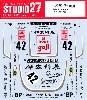 ポルシェ クラマー K3 #42 ル・マン 1980 デカール