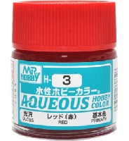 レッド (赤) 光沢 (H-3)