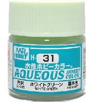 ホワイトグリーン 光沢 (H-31)