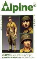 アルパイン1/35 フィギュアWW2 アメリカ戦車兵 夏場にジャケットを脱いだ戦車兵士官