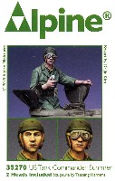 アルパイン1/35 フィギュアWW2 アメリカ戦車兵 腕捲りした夏場の戦車長