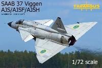 タラングス1/72 エアクラフト プラモデルサーブ 37 ビゲン AJS/AJSF/AJSH