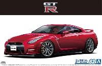 アオシマ1/24 ザ・モデルカーニッサン R35 GT-R ピュアエディション '14