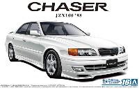 アオシマ1/24 ザ・モデルカートヨタ JZX100 チェイサー ツアラーV '98