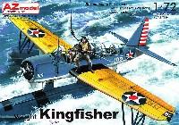AZ model1/72 エアクラフト プラモデルヴォート OS2U キングフィッシャー アメリカ海軍