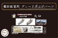 フジミ艦船模型用グレードアップパーツ日本海軍 戦艦 大和 エッチングパーツ w/艦名プレート