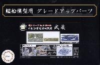 日本海軍 超弩級戦艦 武蔵 エッチングパーツ w/2ピース 25ミリ機銃