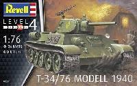 レベル1/76 ミリタリーT34/76 Mod.1940